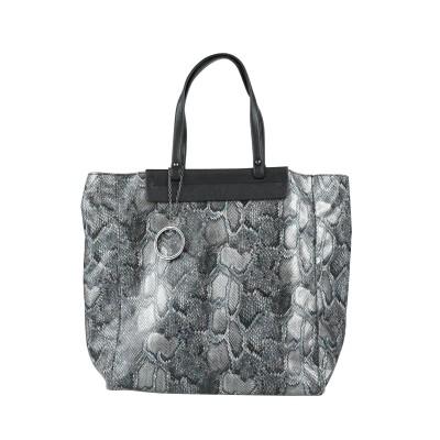 フィロソフィ ディ アルベルタ フェレッティ PHILOSOPHY di ALBERTA FERRETTI ハンドバッグ スチールグレー 紡績繊維