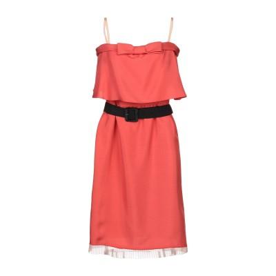 マーク ジェイコブス MARC JACOBS ミニワンピース&ドレス コーラル 12 シルク 100% / ポリエステル ミニワンピース&ドレス