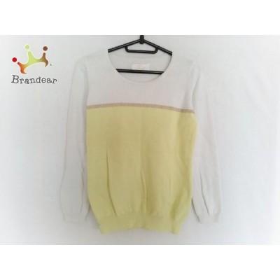 レディ Rady 長袖セーター サイズF レディース ライトグリーン×白  スペシャル特価 20200315