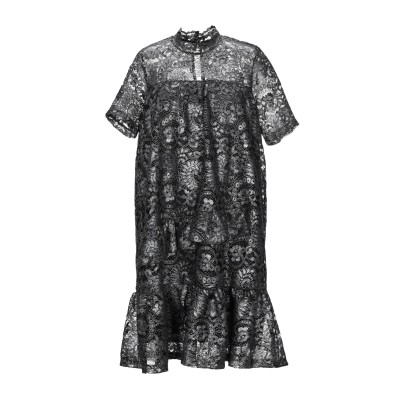 VANESSA SCOTT ミニワンピース&ドレス 鉛色 S ポリエステル 100% ミニワンピース&ドレス