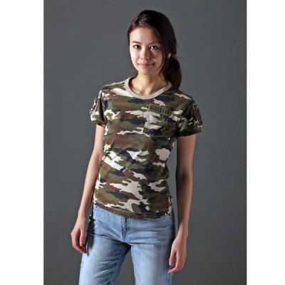 tシャツ Tシャツ avirex/アヴィレックス/SS CAMO FATIGUE TEE/半袖迷彩カモフラージュファティーグTシャツ Belle