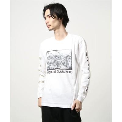 tシャツ Tシャツ 【8】【it】【SAMURAI CORE(サムライコア)】資本主義 Long Tee