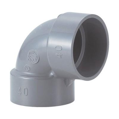エスロン DV継手(90°エルボ)DL40 (DDL40) 積水化学工業(株)