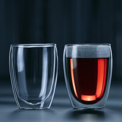bodum ボダム  パヴィーナ ダブルウォールグラス2個ギフトセット 0.35L
