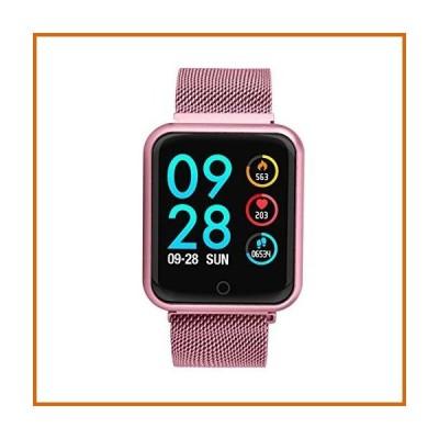 送料無料 2018 P68 Smart Watch, Blood Pressure Blood Oxygen Heart Rate Monitor Wristwatch, Sports Tracker IP68 Smart watch for Men Women