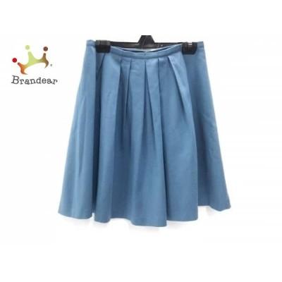 トゥモローランド TOMORROWLAND スカート サイズ38 M レディース ネイビー       スペシャル特価 20200510