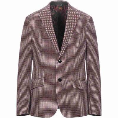エトロ ETRO メンズ スーツ・ジャケット アウター blazer Red