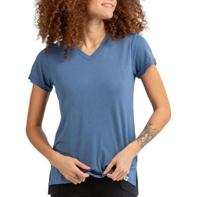 リブ シャツ トップス レディース LIV Outdoor Women's Chandler T-Shirt Moonlight