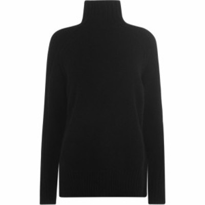 ラルフ ローレン Polo Ralph Lauren レディース ニット・セーター トップス Ralph Lauren Knitted Jumper Polo Black