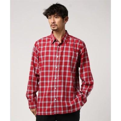 シャツ ブラウス :マルチチェックシャツ