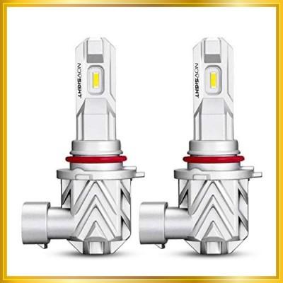 【2020年業界初モデル】NOVSIGHT HB4 LEDヘッドライト 車用LEDバルブ LEDバルブ 車検対応 驚異の純正ハロゲンサイズ登