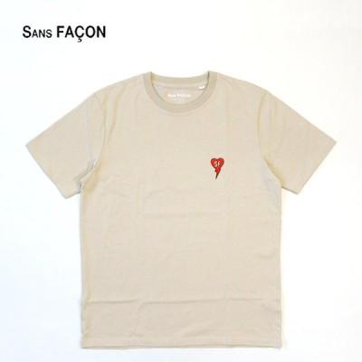 "SANS FACON ソンファソン  半袖 Tシャツ  ""UNISEX S/S TEE"" SF-T163-1"