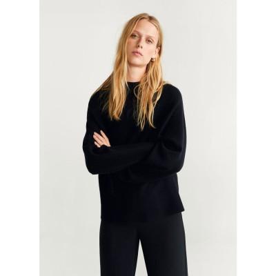 セーター .-- SALA (ブラック)