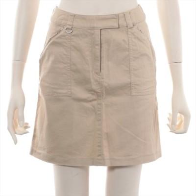 バーバリーロンドン コットン スカート 160A キッズ ベージュ