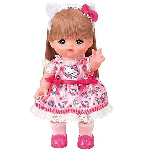 日本PILOT 小美樂娃娃配件 Kitty草莓小洋裝