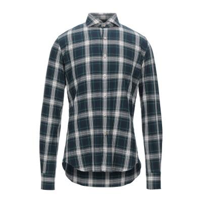 XACUS シャツ ディープジェード 39 コットン 100% シャツ