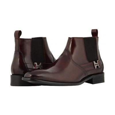 Stacy Adams ステーシーアダムス メンズ 男性用 シューズ 靴 ブーツ チェルシーブーツ Joffrey Plain Toe Chelsea Boot - Burgundy