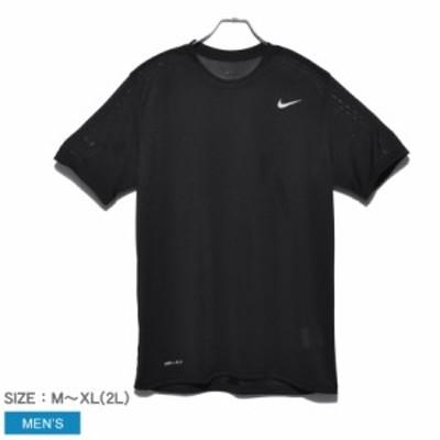 【メール便可】ナイキ 半袖Tシャツ メンズ DRI-FITレジェンドS/S Tシャツ 黒 ブラック NIKE 718834 ウェア トップス カットソー クルーネ