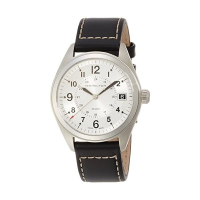 Hamilton Men's H68551753 Khaki Field Analog Display Swiss Quartz Black Watch 並行輸入品