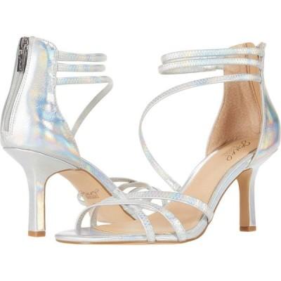 バッジェリー ミシュカ Jewel Badgley Mischka レディース サンダル・ミュール シューズ・靴 Flor Silver