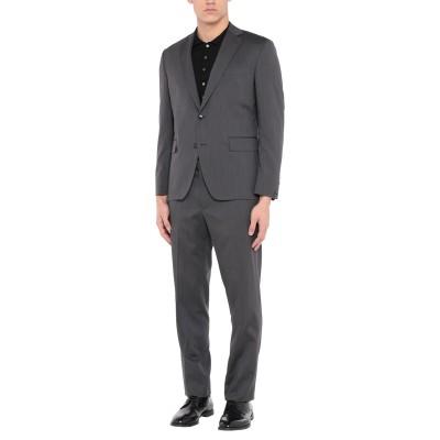 パオローニ PAOLONI スーツ スチールグレー 50 バージンウール 100% スーツ