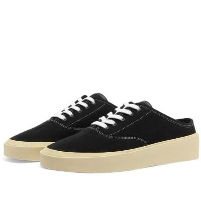 フィアオブゴッド Fear Of God メンズ スニーカー シューズ・靴 Fear of God 101 Backless Sneaker Black