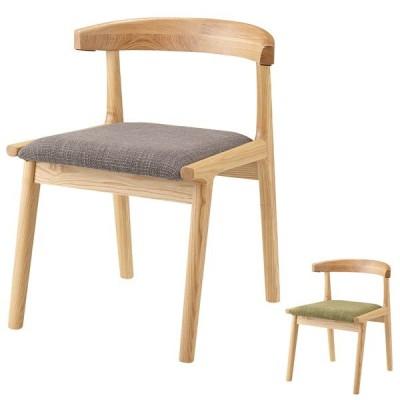 ダイニングチェア 椅子 天然木 アッシュ材 ヘンリー 座面高43cm ( ダイニングチェアー チェア チェアー イス 天然木製 木製 )