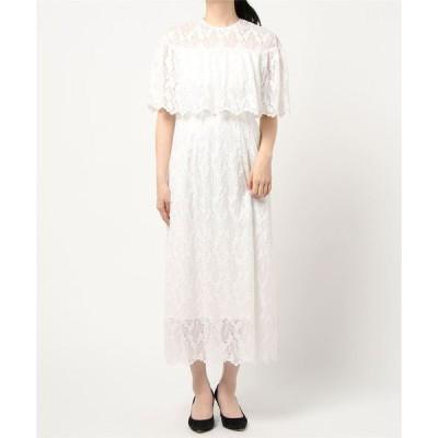 ドレス 【troisieme chaco×formforma】ブラウジングレースウェディングロングドレス