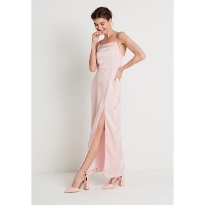 エヌ エー ケイ ディ レディース ワンピース トップス HIGH SLIT DRESS - Maxi dress - dusty pink dusty pink