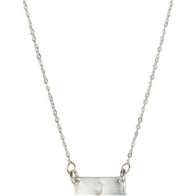 ナシェル NASHELLE レディース ネックレス ジュエリー・アクセサリー Tiny Bar Necklace Silver