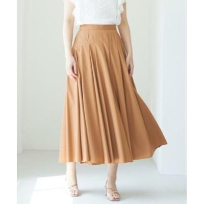 ANAYI/アナイ コンパクトコットンフレア スカート キャメル4 36