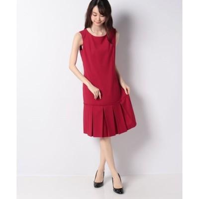 【ミス ジェイ】マイクロギャバ タックドレス