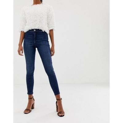 ミスセルフフリッジ レディース デニムパンツ ボトムス Miss Selfridge skinny jeans