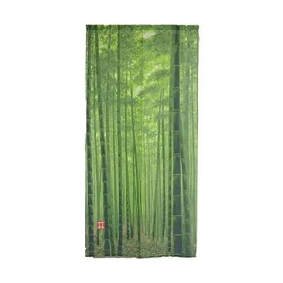 Arie(アーリエ) のれん 竹林 85×170cm グリーン (グリーン 85×170cm)