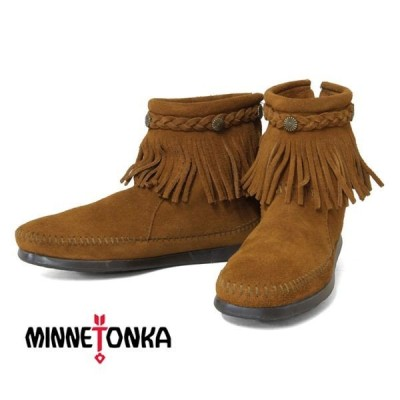 MINNETONKA(ミネトンカ) ハイトップ バックジップ ブーツ [並行輸入品]