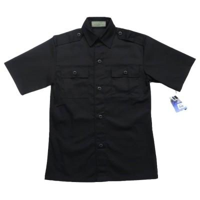 未使用 BDUタイプ タクティカル ミリタリーシャツ ブラック サイズ表記:S