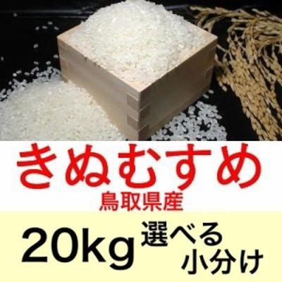 令和元年産 鳥取県産きぬむすめ20kg便利な選べる小分け