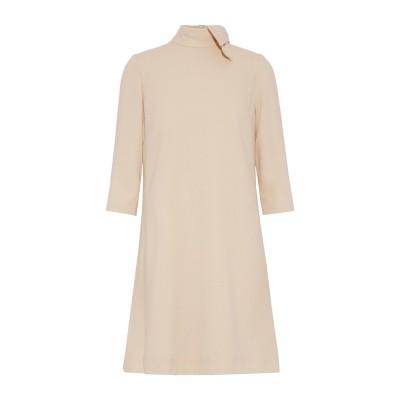ゴート GOAT ミニワンピース&ドレス ベージュ 8 ウール 100% ミニワンピース&ドレス