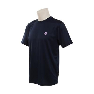 【販売主:スポーツオーソリティ】 エスエーギア/ドラえもんバドミントンTシャツ ユニセックス ネイビー L SPORTS AUTHORITY