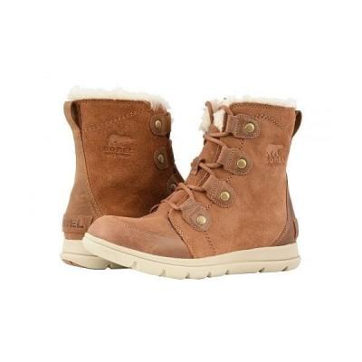 SOREL ソレル レディース 女性用 シューズ 靴 ブーツ スノーブーツ Explorer Joan - Camel Brown/Ancient Fossil