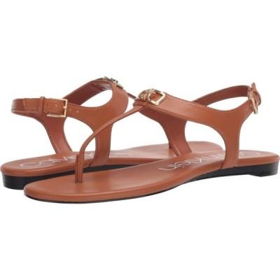 カルバンクライン Calvin Klein レディース サンダル・ミュール シューズ・靴 Shamary Cuoio