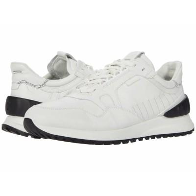 エコー スニーカー シューズ メンズ Astir Athletic Sneaker White/Black