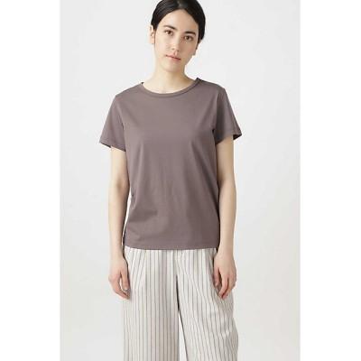 <HUMAN WOMAN(Women)/ヒューマンウーマン> 新きょう綿Tシャツ グレー【三越伊勢丹/公式】