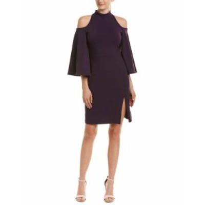 Susana Monaco スサナモナコ ファッション ドレス Susana Monaco Cold-Shoulder Sheath Dress Xs Purple