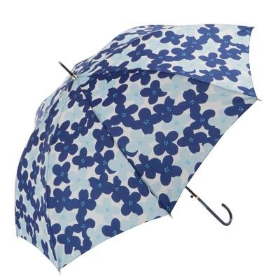 ノーブランド No Brand amusant sous la pluie 60cmBJ 耐風 8mm スリム 長傘 (27750.FプリントNV)