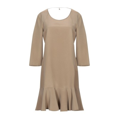 パトリツィア ペペ PATRIZIA PEPE ミニワンピース&ドレス サンド 42 レーヨン 100% ミニワンピース&ドレス