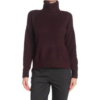 マックスタジオ レディース ニット&セーター アウター Long Sleeve Turtle Neck Sweater HBURG128