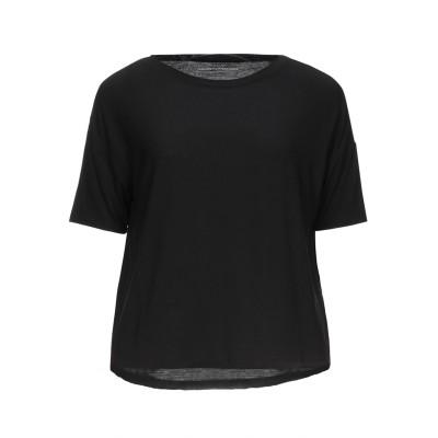 マジェスティック MAJESTIC FILATURES T シャツ ブラック 1 レーヨン 94% / ポリウレタン 6% T シャツ