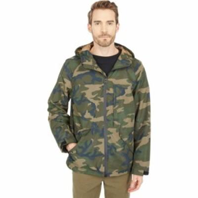 リーバイス Levis メンズ レインコート アウター Midlength Performance Rain Jacket Camouflage