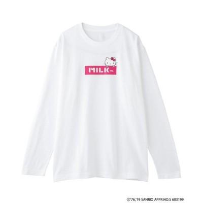 tシャツ Tシャツ HELLO KITTYx MILKFED. LS TEE SAPPORO